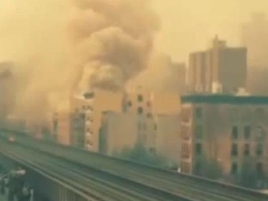В доме в Нью-Йорке прогремел мощный взрыв
