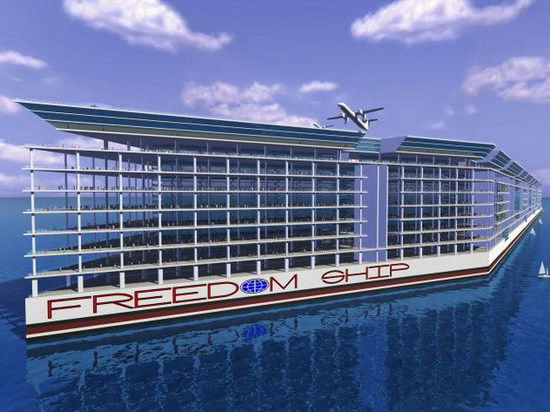 10 миллиардов долларов на огромное судно, способное вместить 40 тысяч человек