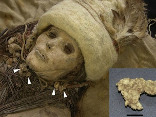 В Китае вместе с «европеоидной» мумией обнаружен древнейший сыр