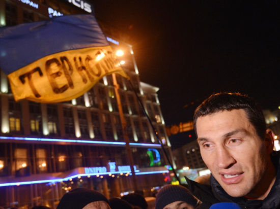 Виталий Кличко: Штурм Майдана начался