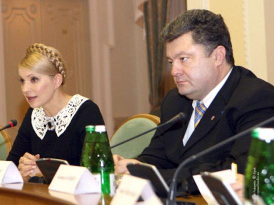 «Газовая принцесса» Тимошенко против «шоколадного короля» Порошенко