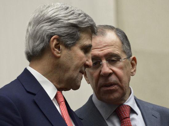 Лавров и Керри поговорят о Сирии без посторонних