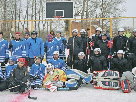 Истринский хоккей станет массовым