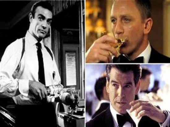 Джеймс Бонд в неделю выпивал в 4 раза больше рекомендуемой нормы алкоголя