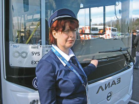 На Олимпиаде автобусы водят лучшие российские водители
