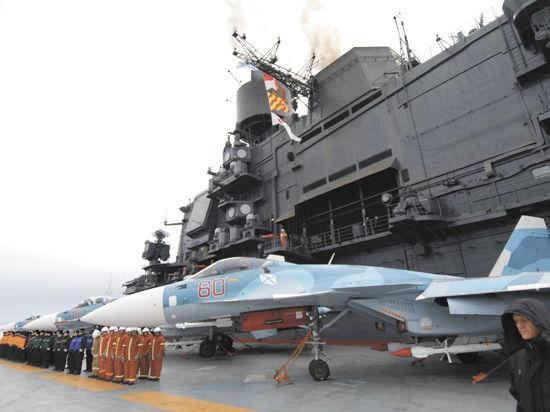 Российский флот отправили на химию