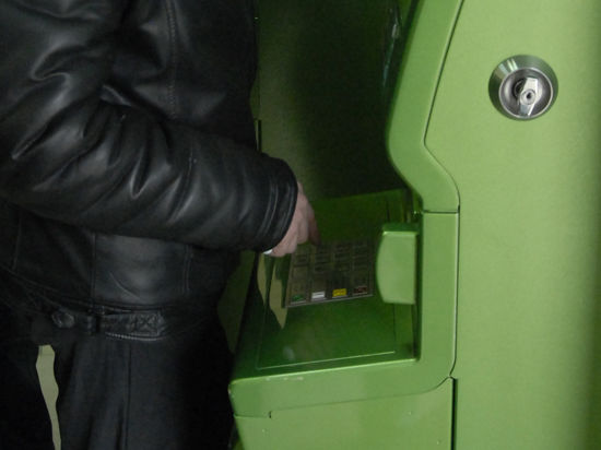 Банкоматы научатся метить грабителей