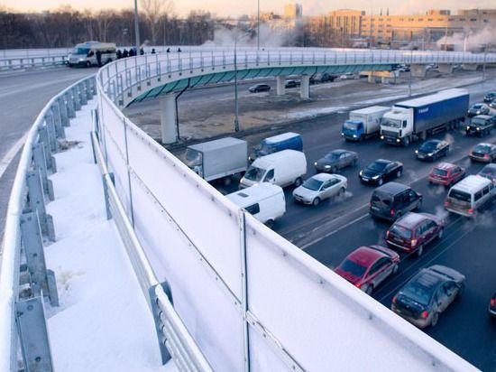 Собянин открыл новые эстакады на шоссе Энтузиастов