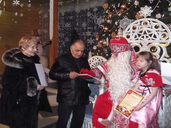 Подарок от Деда Мороза через 70 лет