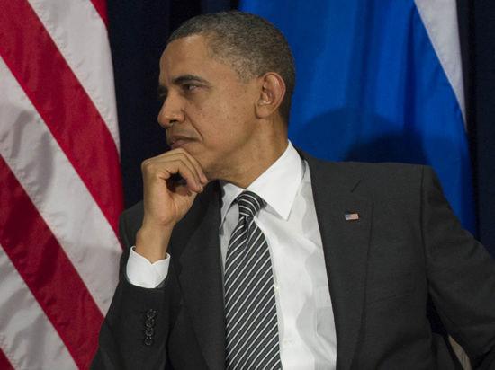 Реакция на Крым уронила рейтинг Обамы до рекордно низкого