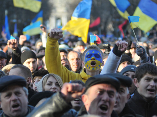 Бунтующая Украина: хроника событий