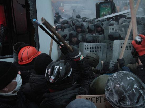 Киев греется «коктейлем Молотова»