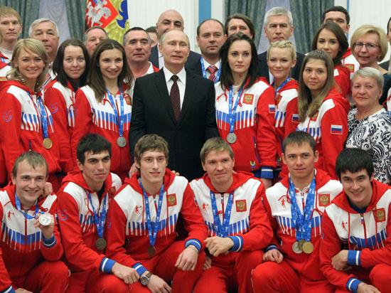 Что Путин пожелал медалисткам Универсиады?