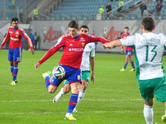 Щенников одной левой вывел ЦСКА в полуфинал Кубка России