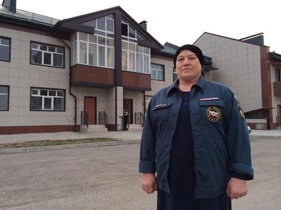 Легендарная автомать - героиня Зина из Чечни теперь с новым домом