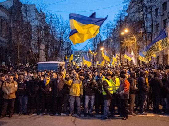 Что происходит в центре Киева
