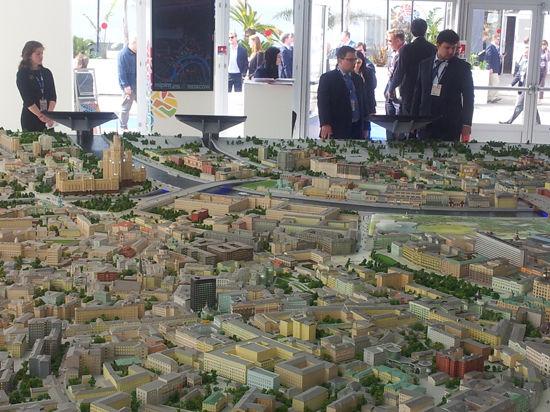 Площадь Москвы сжалась до размеров квартиры