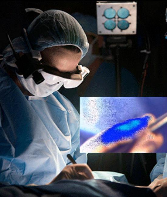 Изобретены очки, которые позволяют видеть клетки рака