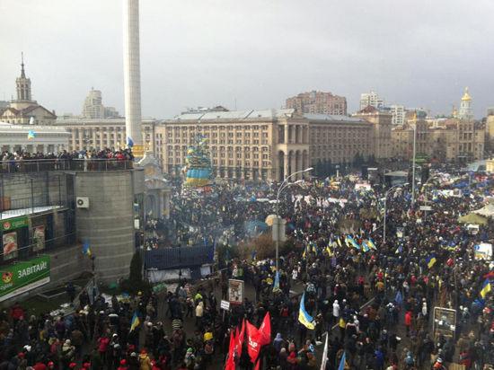 Майдан настроен на рекорд