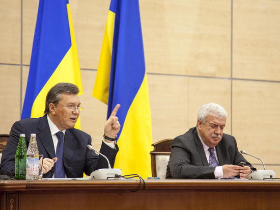 Онлайн-трансляция пресс-конференции Януковича: