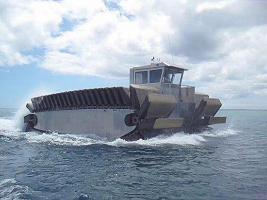 Американцы построили «гибрид танка и гигантской байдарки»