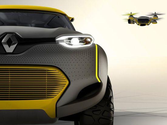 Французы спроектировали автомобиль, оснащенный летающим дроном