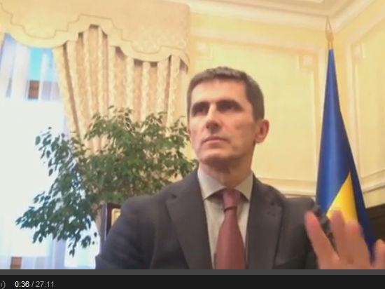 Первый вице-премьер Украины Ярема: Активная фаза антитеррористической операции продолжается