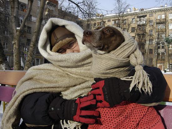 Москву сковало морозом