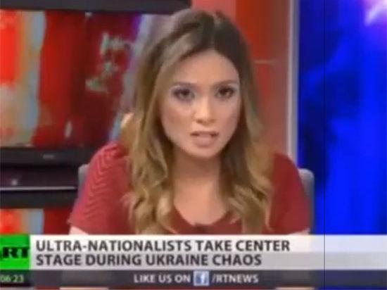 Журналистка Russia Today уволилась в прямом эфире из-за Украины