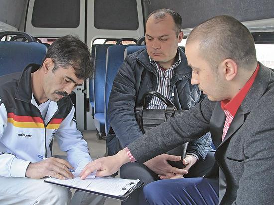 В Красногорске найдены автобусы-нелегалы