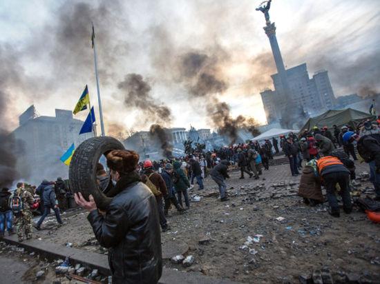 Украина, треснувшая пополам