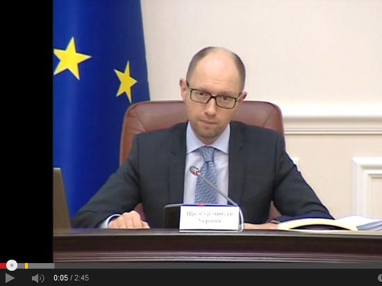 Яценюк: Россия не отводила войска от украинской границы