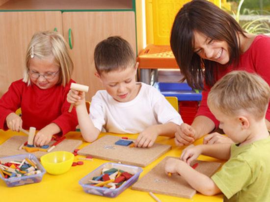 В «семейных» детсадах малыши будут играть стерильными игрушками