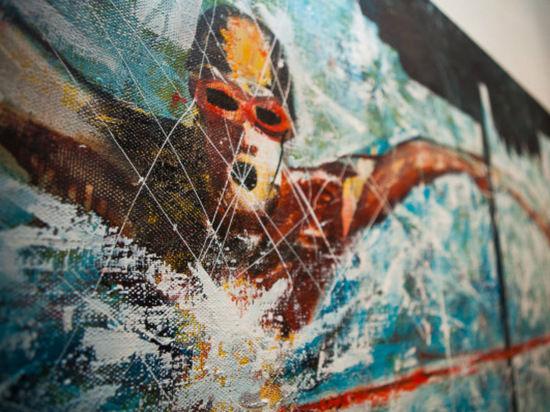 Художники Краснодарского края и Адыгеи демонстрируют свои «олимпийские» работы