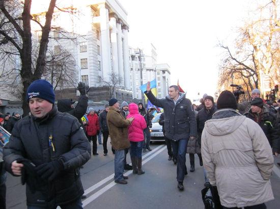 Спецкор МК передает из бунтующего Киева