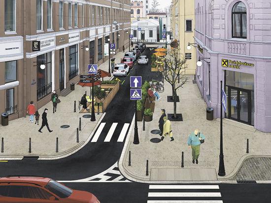 Пешеходы будут отвоевывать переулки у водителей по частям