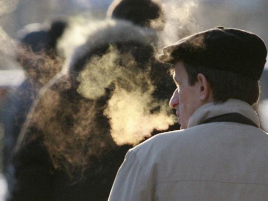 Подмосковные морозы побили температурный рекорд
