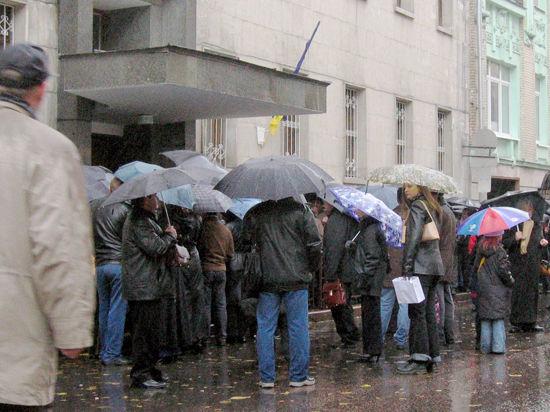 «Лимоновцы» попытались захватить посольство Украины в Москве