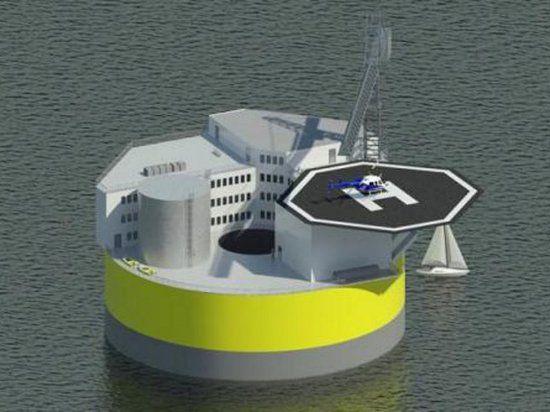 Создана первая плавучая атомная электростанция: ей больше не страшны цунами