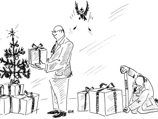Что подарить чиновнику