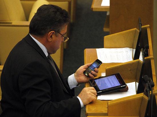 У чиновников и депутатов могут отобрать «айфоны»