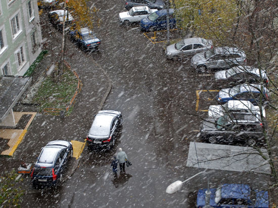 На Москву идут апрельские морозы