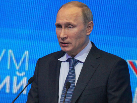 Путин потребовал от Киева предоплаты за газ
