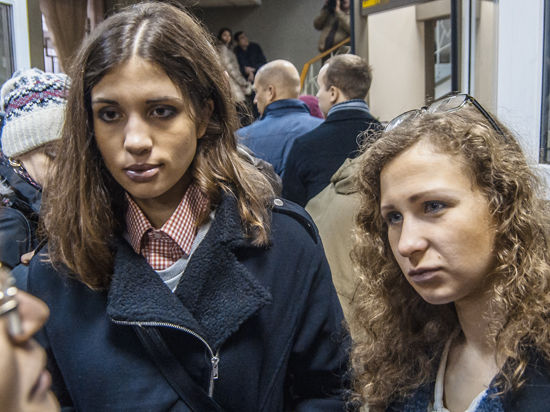 Участницы Pussy Riot задержаны в Сочи по делу о краже