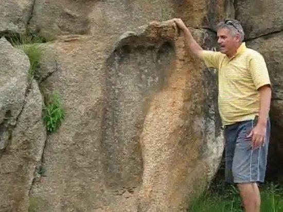 Найден след гигантского древнего великана