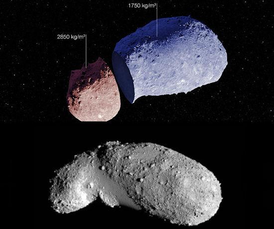 Астрономов удивили внутренности астероида