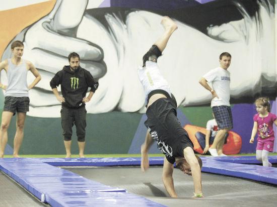 Батуты — новый писк столичной фитнес-моды