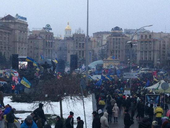 Украинские офицеры отказываются штурмовать Евромайдан