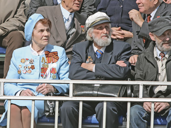 Ветераны Успенского отпраздновали юбилей
