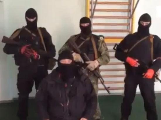 Луганские «захватчики» записали видеообращение: «Здесь нет россиян и сотрудников ФСБ»